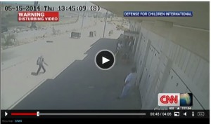 "West Bank ""shooting"" per CNN"