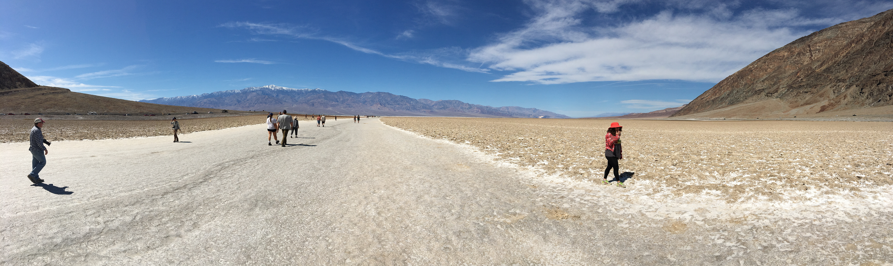 Badwater path